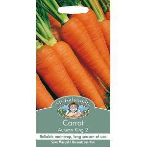 Mr.Fothergill's Carrot Seeds Autumn King 2