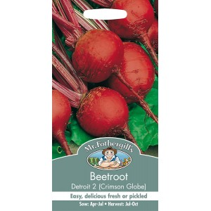 Mr.Fothergill's Beetroot Seeds Detroit 2 Crimson Globe