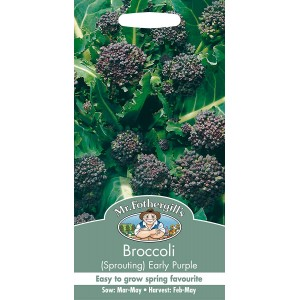Mr.Fothergill's Broccoli Early Purple Sprouting Seeds