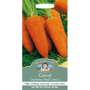 Mr.Fothergill's Carrot Chantenay Red Cored 2 Seeds
