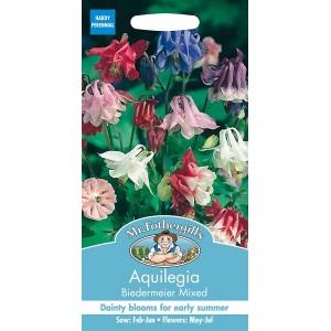 Mr.Fothergill's Aquilegia Biedermeier Mixed Flower Seeds