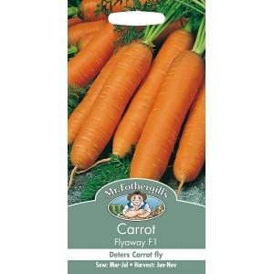 Mr.Fothergill's Carrot Flyaway F1 Seeds