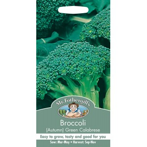 Mr.Fothergill's Broccoli Green Calabrese Seeds