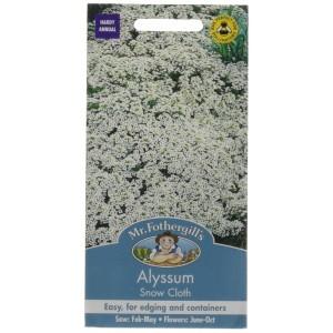 Mr.Fothergill's Alyssum Snow Cloth