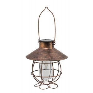 Fountasia Solar Marine Copper Lantern Light