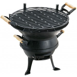 Landmann Cast Iron Barrel Barbecue