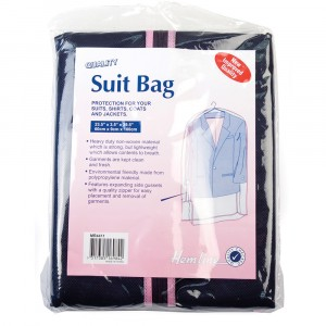 Hemline Storage Bag - Suit Bag Polypropylene 60 x 9 x 100cm