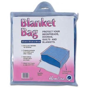 Hemline Storage Bag - Blanket Bag Polypropylene 50 x 29 x 60cm