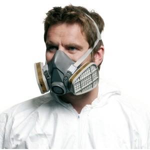 3M Half Mask Respirator Large EN Certified