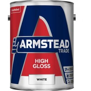 Armstead High Gloss White 5 Litre