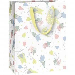 Wimmel Gift Bag Colour Large 25 x 13 x 33cm Mimmi & Millow