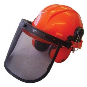 ALM Chainsaw Helmet - Red