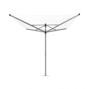 Brabantia Rotary Lift-O-Matic Airer 4 Arm With Ground Spike