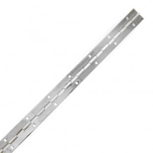 Securit Piano Hinge Zinc Plated Priced Per Length