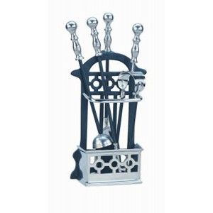 Manor Companion Set Victorian - Black/Pewter