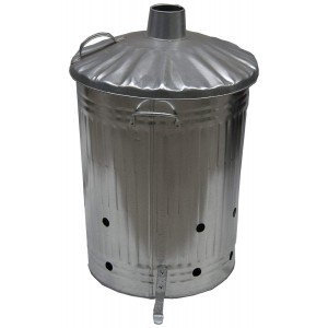 Apollo 90L Galvanised Metal Incinerator