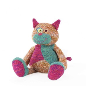 Intelex Warmies Knitted Microwaveable Cat