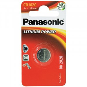 Panasonic Cr1620 Cd1 3V 16mm x 2.0 Lithium Battery