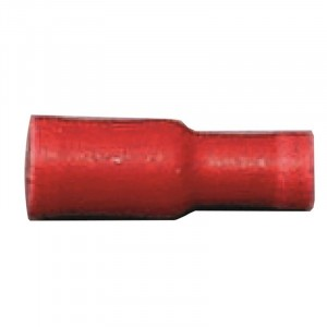 Bullet Connector Female Red