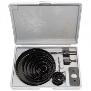 Amtech 16 Piece Hole Saw Kit Moulded