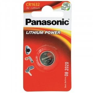 Panasonic Cr1632 Cd1 3V Coin Lithium Battery