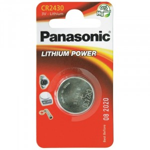 Panasonic Cr2430 Cd1 3V 24.5 x 3mm Lithium Battery
