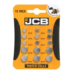 JCB Assorted Batteries Pack 15