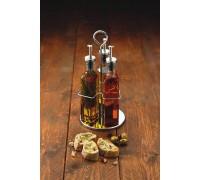 KitchenCraft World Of Flavours Italian 270ml Glass Oil And Vinegar Set