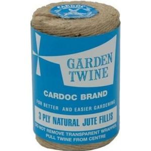 Cardoc Garden Twine 3-Ply Natural Jute Fillis 200g