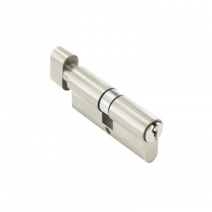 Securit Euro Thumb Cylinder Nickel 35 x 35mm