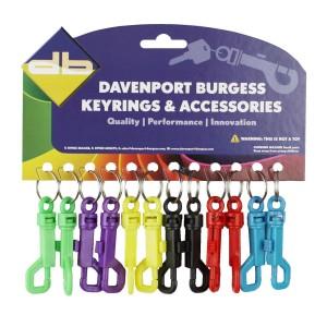 Dog Clip Keyring