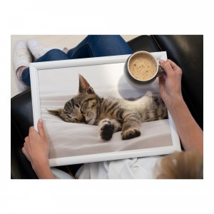 Creative Tops Sleeping Kitten Lap Tray
