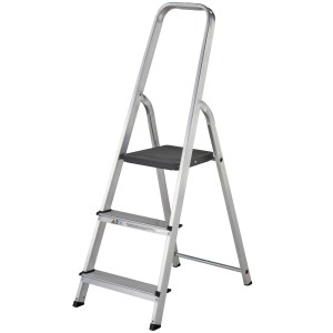 Werner Stepladder 3-Tread High Handrail