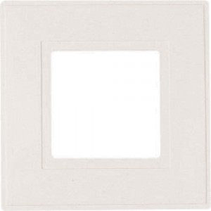Dencon Finger Plates for Flush Wall Switches Clear