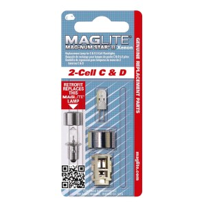 Maglite 2-Cell C & D Replacement Bulb