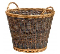 Manor Log Basket Duo Tone - Large