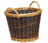 Manor Log Basket Duo Tone - Small