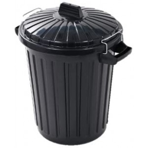 Curver Dustbin With Metal Clip Lid