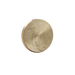 Compression Blanking Disc (Pack of 2) Brass 22mm