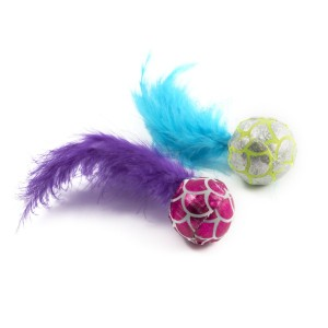 Ancol Mermaid Feather Balls 16cm