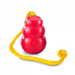 Kong Classic Dog Toy with Rope