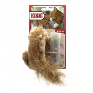 Kong Dr Noys Catnip Toy Squirrel