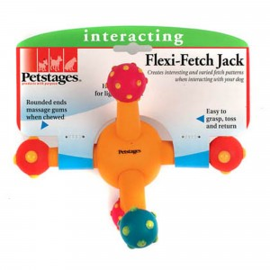 Petstages Flexi-Fetch Jack Interacting Toy for Dogs