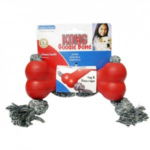 Kong Goodie Dog Bone with Rope