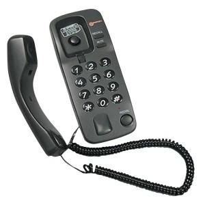 Geemarc Marbella Corded Telephone Graphite