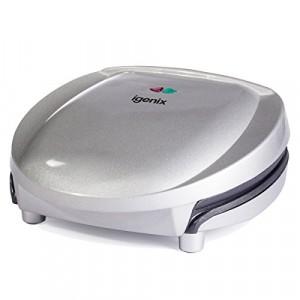 Igenix Four Portion Health Grill - 1300W - Silver