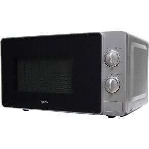 Igenix Solo Manual Microwave IG2081S 20 Litre Silver