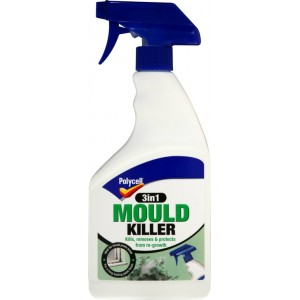 Polycell Mould Killer 3 in 1 Spray