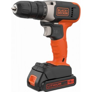 Black & Decker 18V Lithium Drill Driver