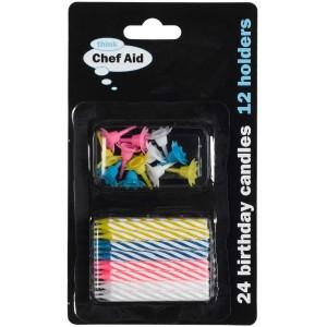Chef Aid Birthday Candles
